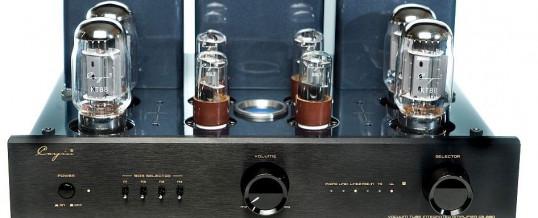 CS-88A lampowy wzmacniacz mocy push pull z PHONO Stage, EL34/KT88